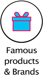 button famous products brands